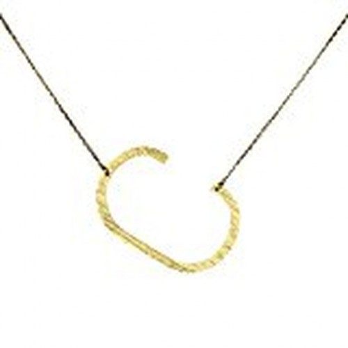 Ellison + Young Monogram Collection Initial Necklace - C