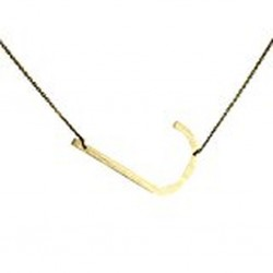 Ellison + Young Monogram Collection Initial Necklace - J