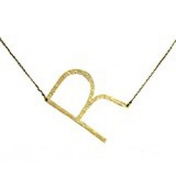 Ellison + Young Monogram Collection Initial Necklace - R
