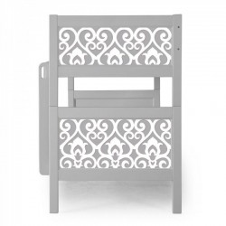 P'kolino Nesto Bunk Bed Grey - Belle - Grey