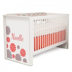 P'kolino Elita Convertible Crib - Coral