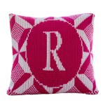 Puzzle Initial Pillow 15 x 15