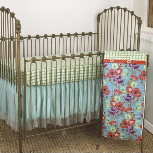 Crib Bedding Set Lagoon Collection