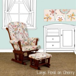 Floral Nursery Glider Penny Lane Collection