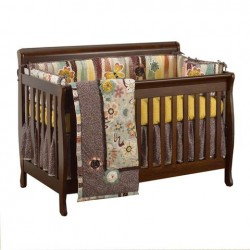 Penny Lane Baby Bedding Set with Convertible Crib