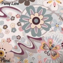 Penny Lane Floral Fabric - 3yds.