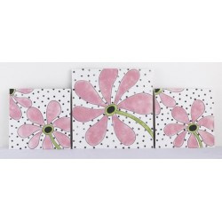 Floral Wall Art Girly Collection
