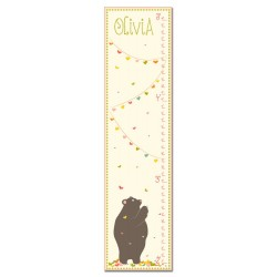 Love Bear Personalized growth Chart