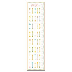 Tribal Arrows Growth Chart - Personalized with Name